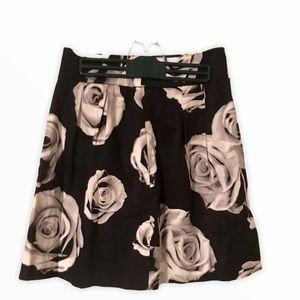 Black House | White Market Black A line Skirt